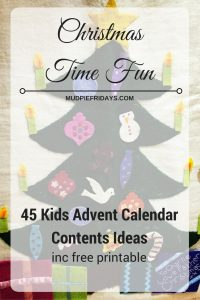 45 Kids Advent Calendar Contents Ideas