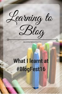 blogfest 2016 key learns