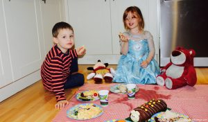 Disney Tea Party with Micky & Donald
