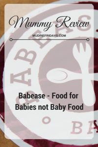 Babease - Food for Babies not Baby Food