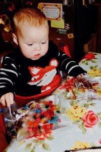 DIY Baby Toys - Sensory Pat Bags