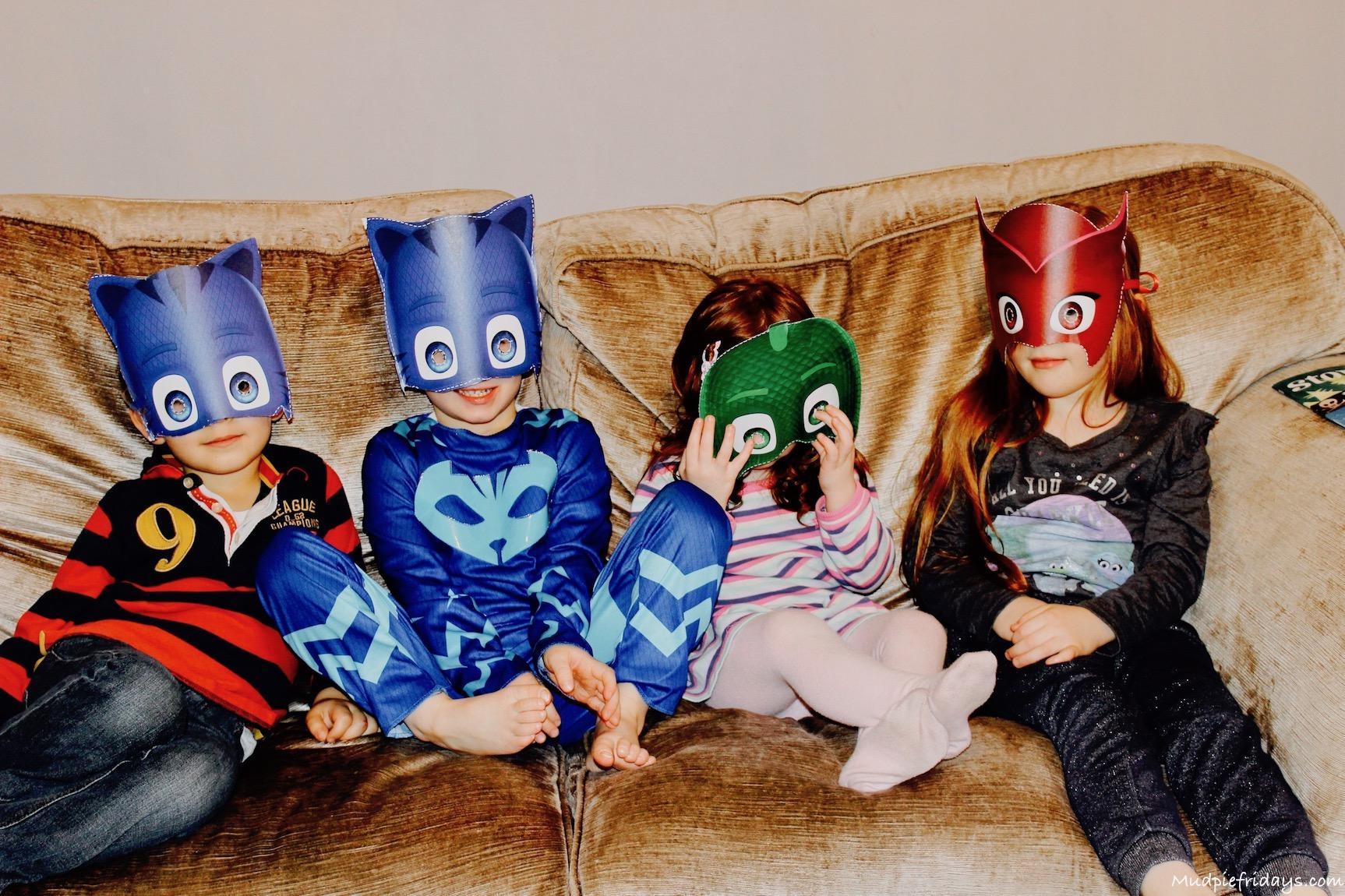 PJ Masks Themed Party