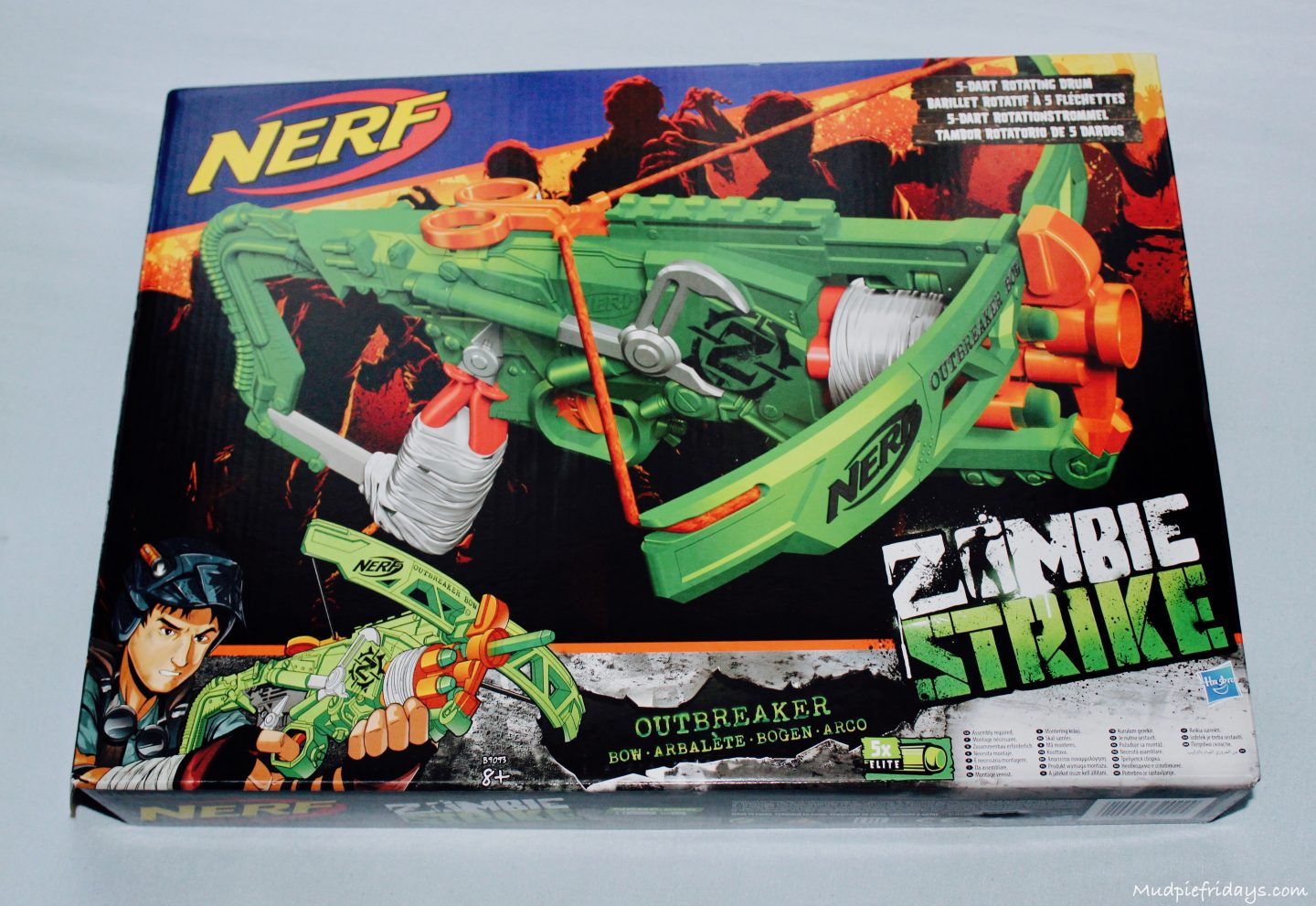 NERF Zombie Strike Outbreaker Bow Review