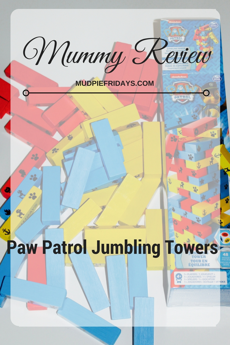 Paw Patrol Jumbling Towers