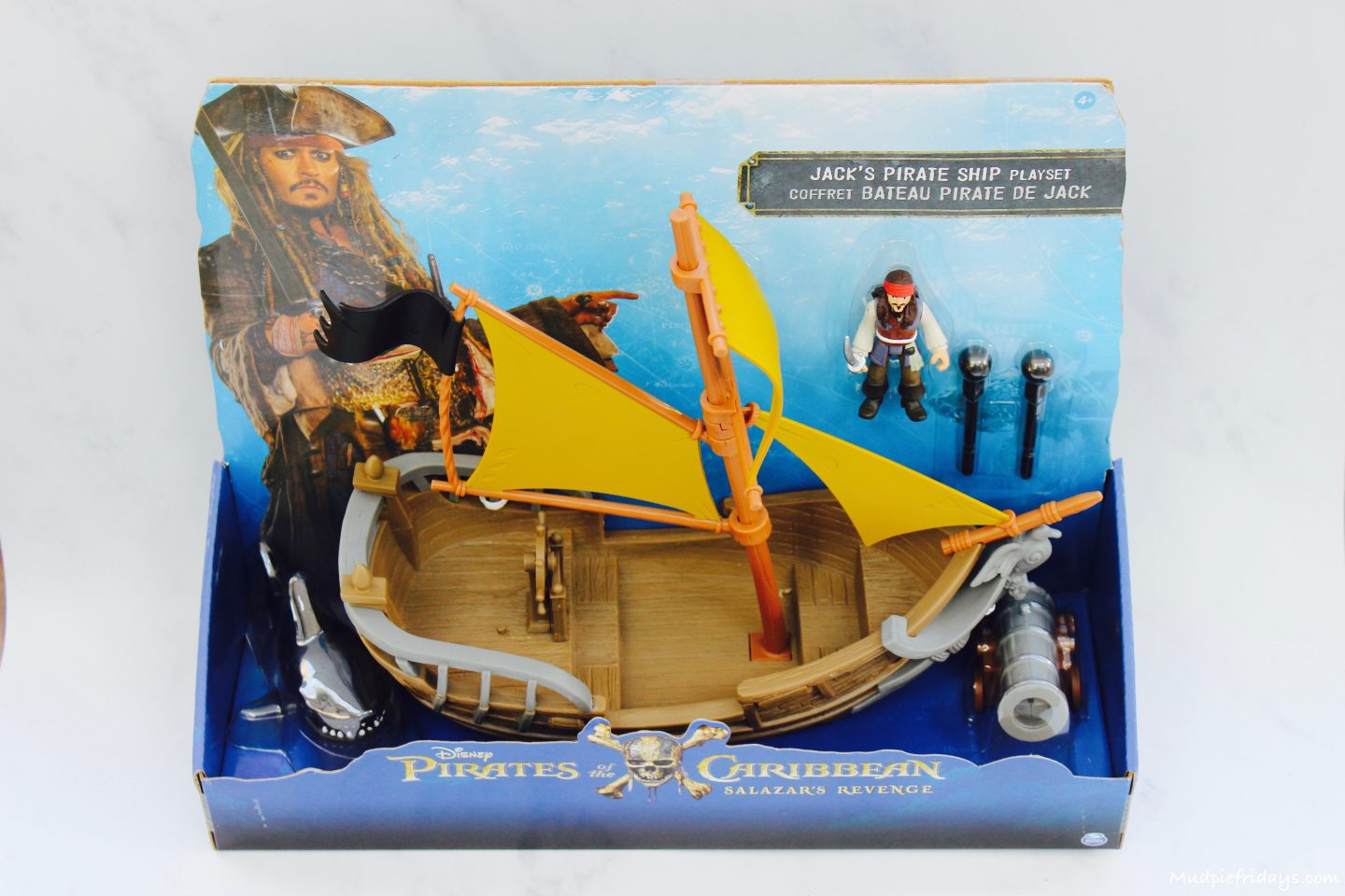 Pirates Of The Caribbean Toys : Spin master pirates of the caribbean toy review