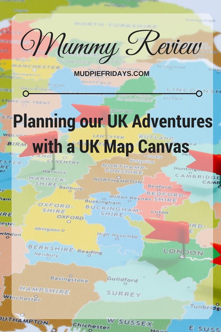 UK Map Canvas