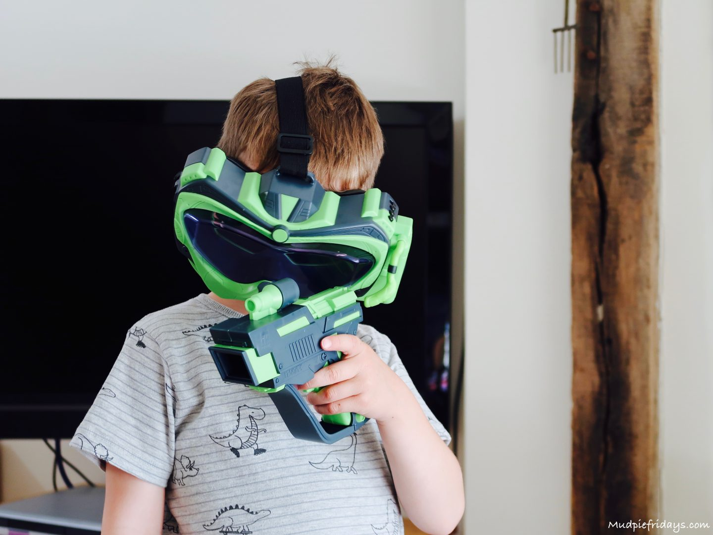 Alien Vision Game Review Google Mask The Goggles Themselves Have Three Settings From Easy Through To Difficult We Started On And Monkey Took Several Attempts Get Hang Of It