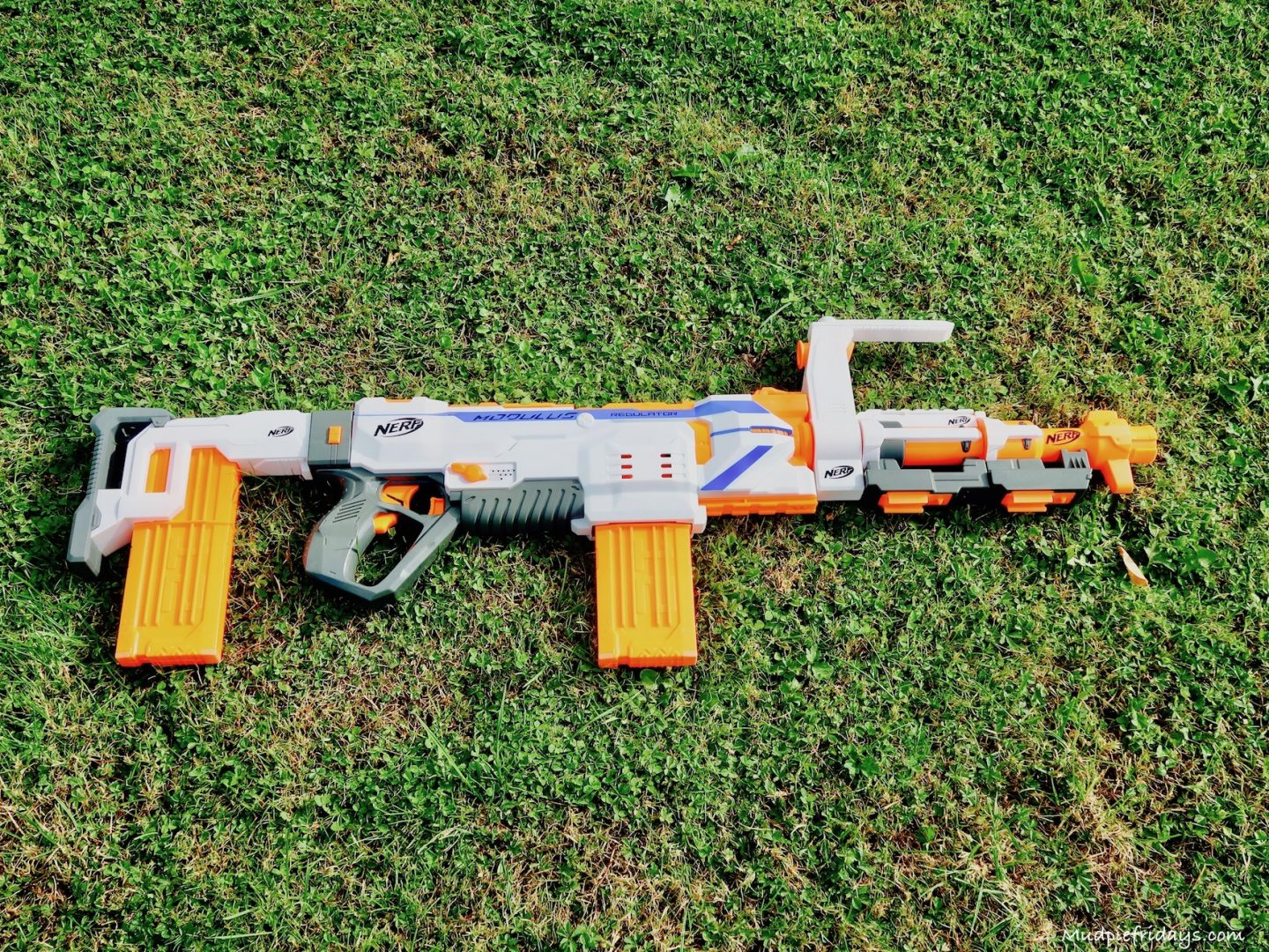 Mechanical engineer blasts his way into Blockbusters 2017 edition with the  world's Largest Nerf gun