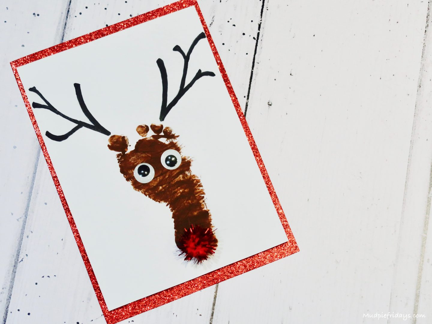 i love this craft as its so easy to do if you would like some more inspiration for some more footprint and handprint crafts then check out some of the - Footprint Christmas Crafts