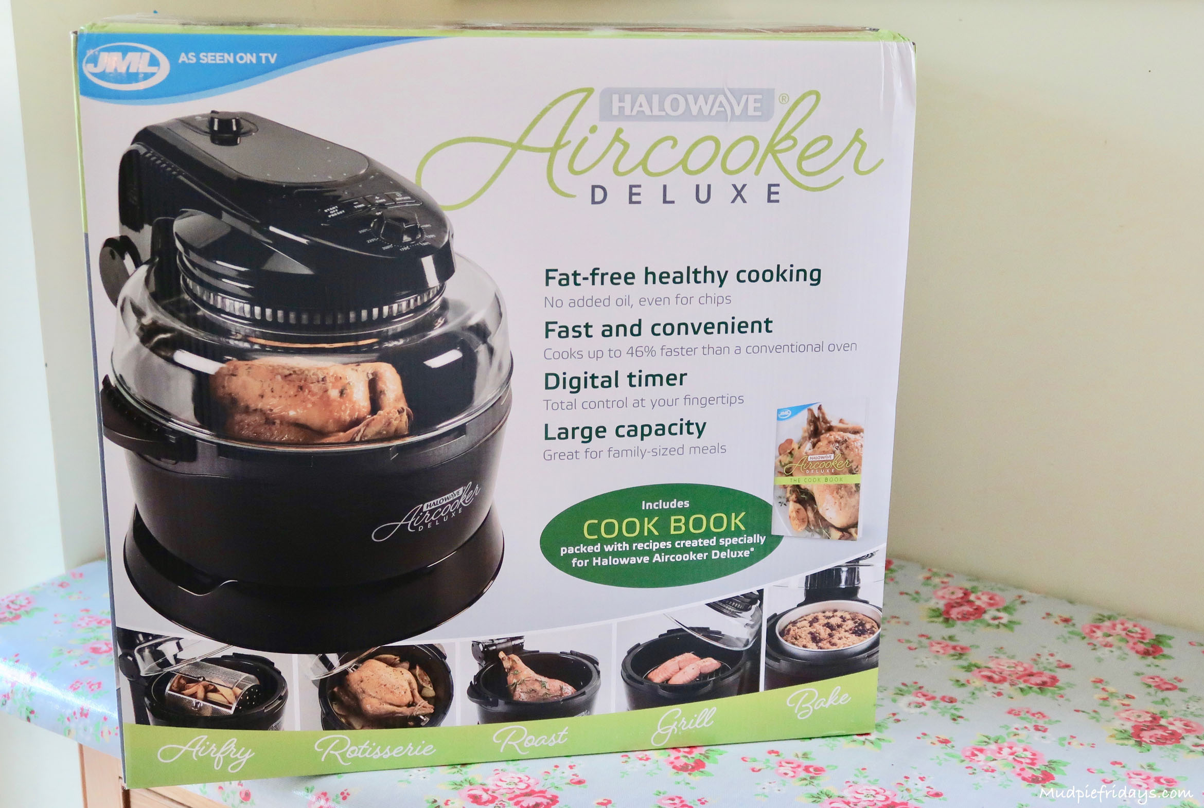 Halowave Aircooker Deluxe Review & Giveaway - mudpiefridays.com