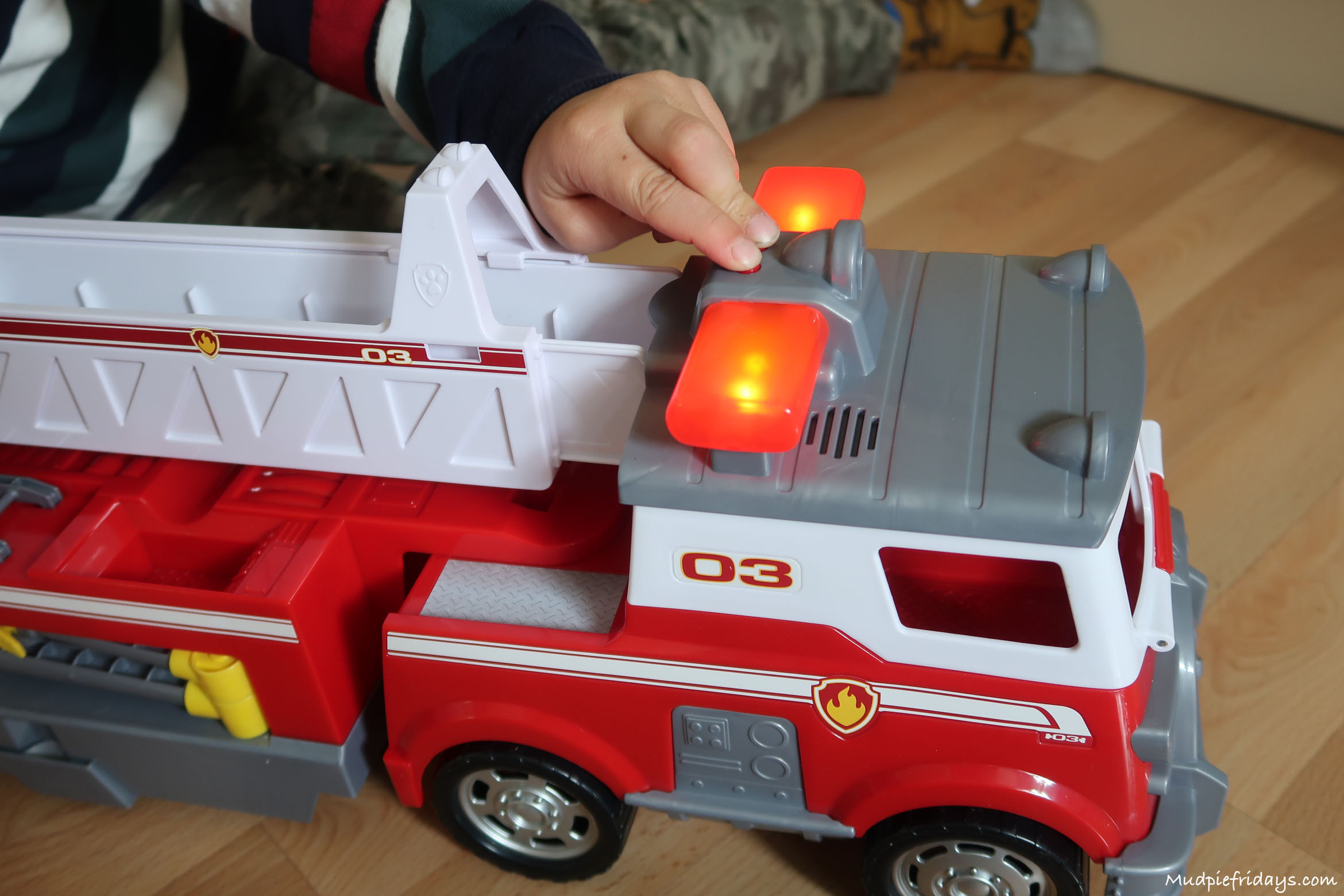 Review: Paw Patrol Ultimate Rescue Fire Truck