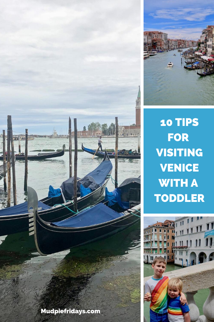 10 Tips for visiting Venice with Toddlers