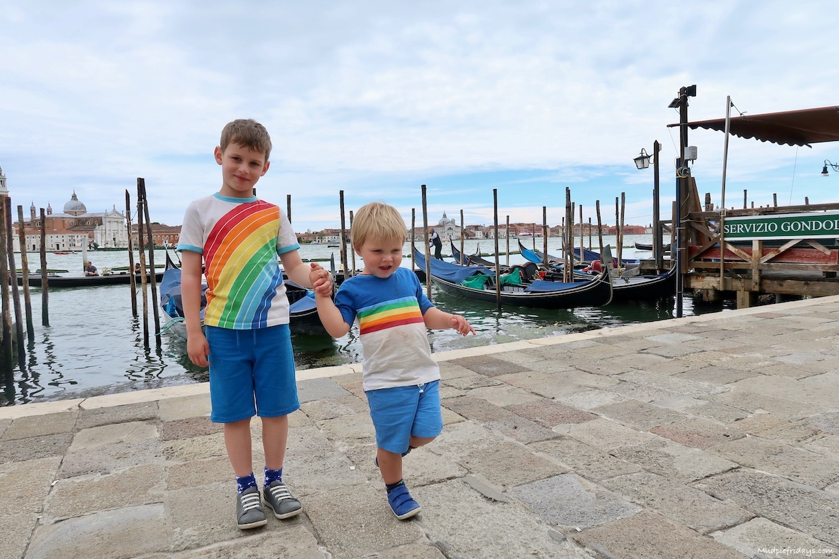 Tips for visiting Venice with a toddler