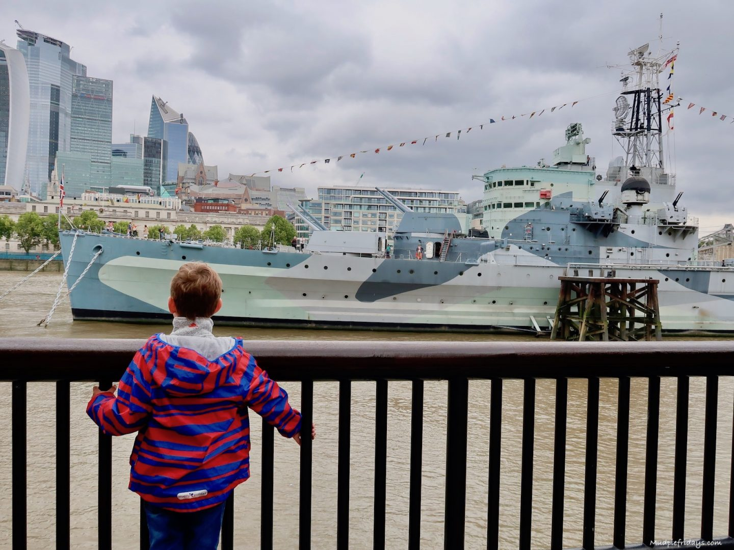 5 Reasons to visit HMS Belfast with kids