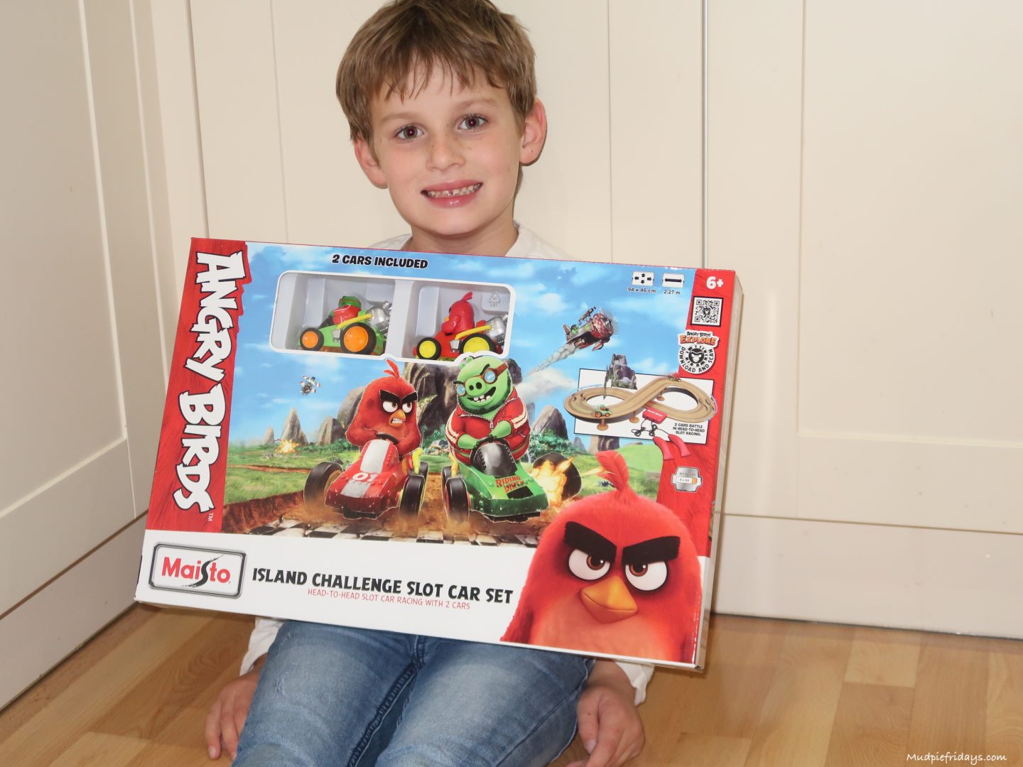Review The Angry Birds Island Challenge Slot Car Set