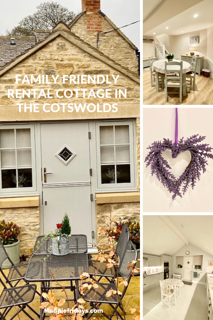 Family friendly rental cottage in the Cotswolds
