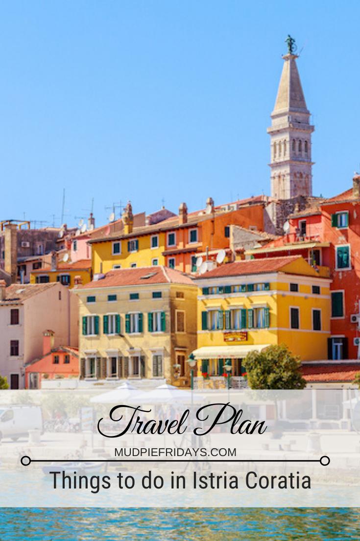 Travel Plan in Istria Croatia