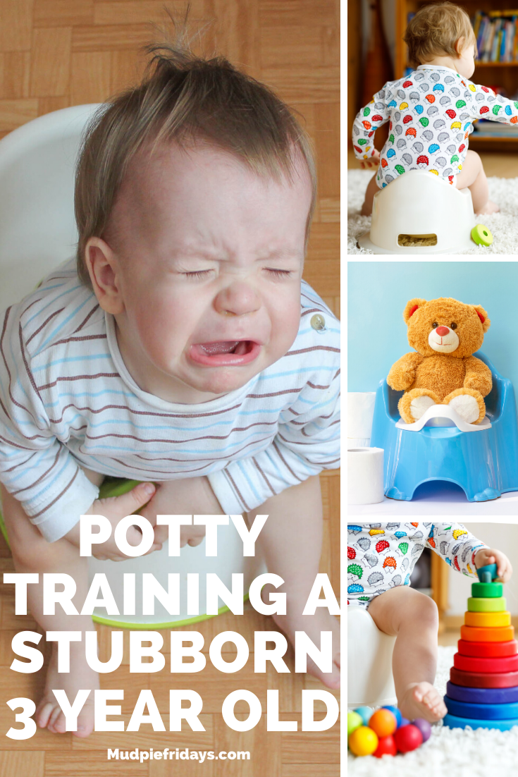 Potty Training A Stubborn 3 Year Old