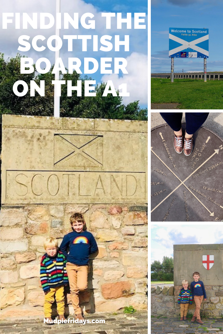Finding the Scottish boarder on the A1