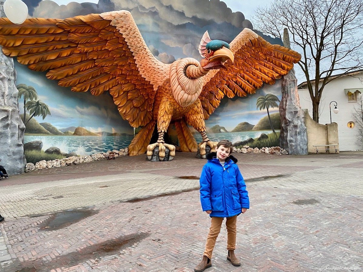 which rides at Efteling are best for a 7 year old