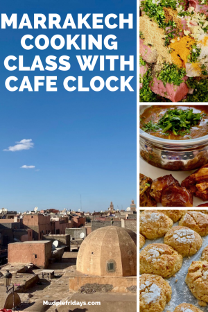 Marrakech cooking class with Cafe Clock
