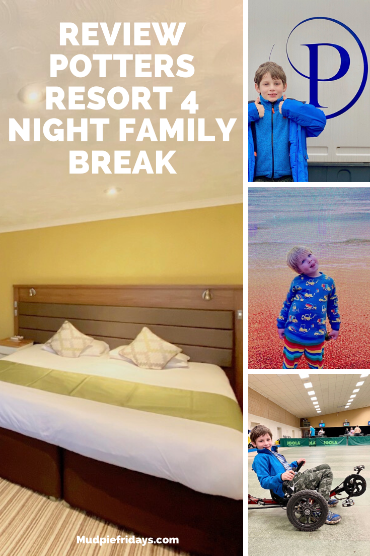 Review Potters Resort 4 Night Family Break.