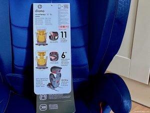 diono Monterey XT Fix Car Seat Review