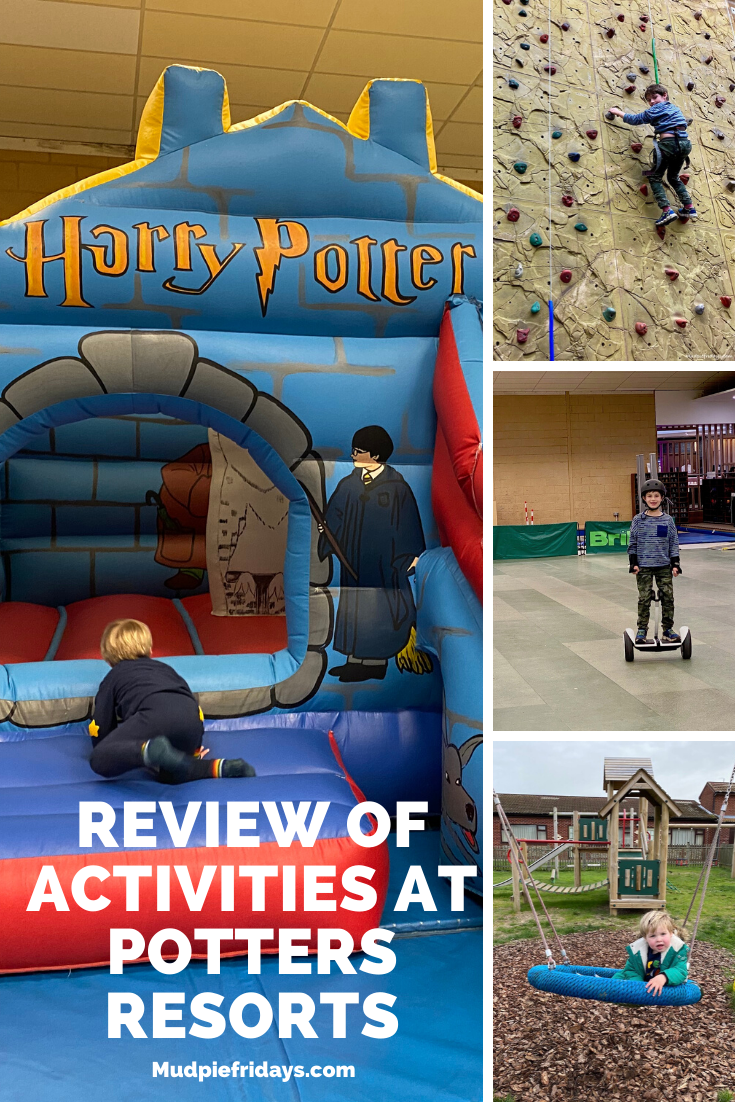 Review of activities at Potters Resorts