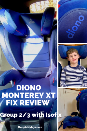 diono Monterey XT Fix Car Seat Review
