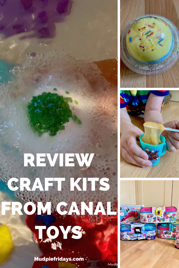 Review craft kits from Canal Toys