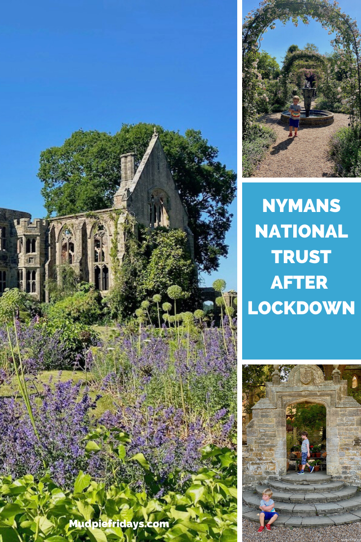 Nymans National Trust after Lockdown
