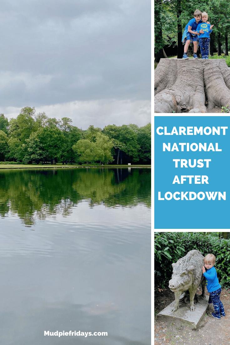 Claremont National Trust after lockdown
