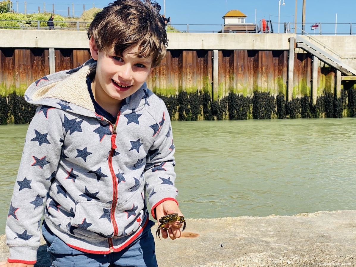 The best place for crabbing in West Sussex