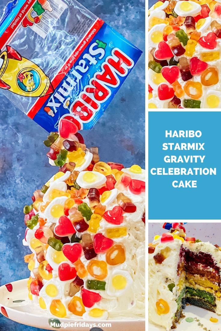 HARIBO Starmix Gravity Celebration Cake