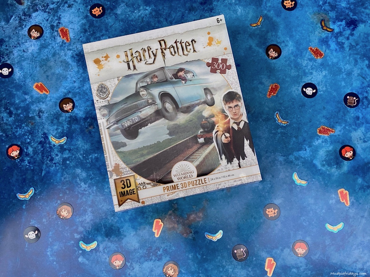 Harry Potter Super 3D Ford Anglia 300 Piece Puzzle