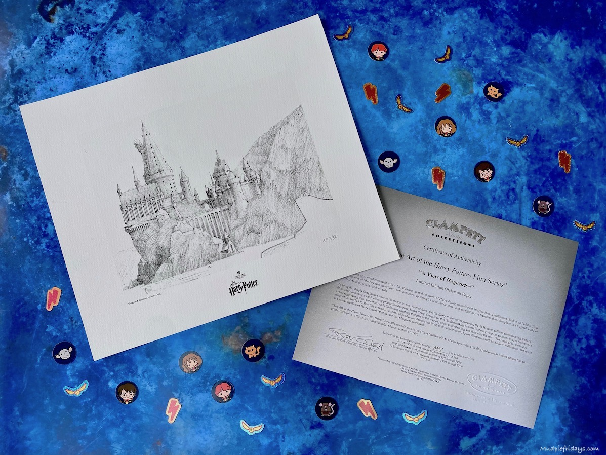 A View of Hogwarts  - Limited Edition Fine-Art Print