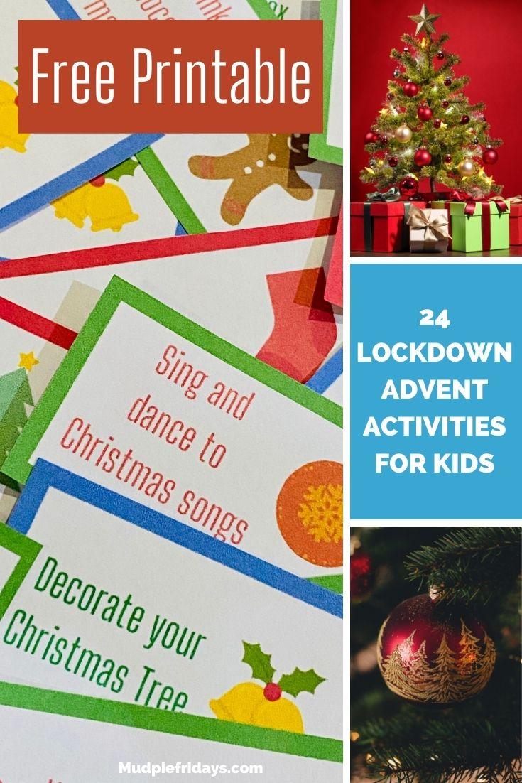 24 Lockdown Advent Activities for Kids