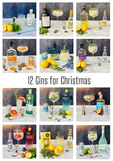 12 Gins for Christmas