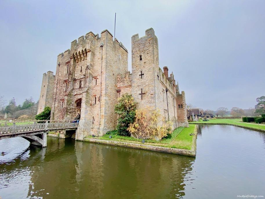 Hever castle Christmas 2020