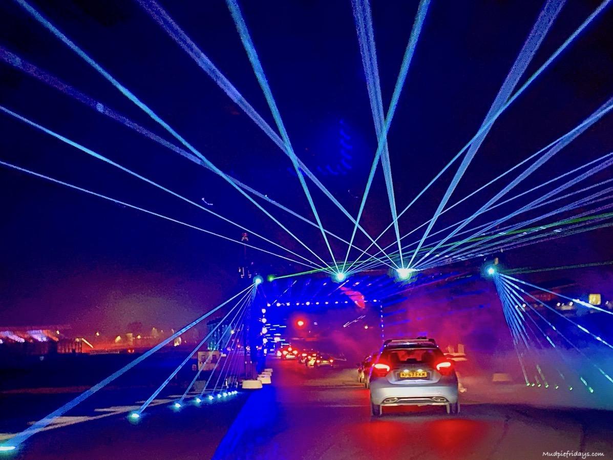 Silverstone Drive Lap Land Lights