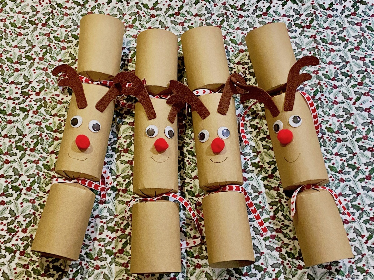 DIY Reindeer Crackers