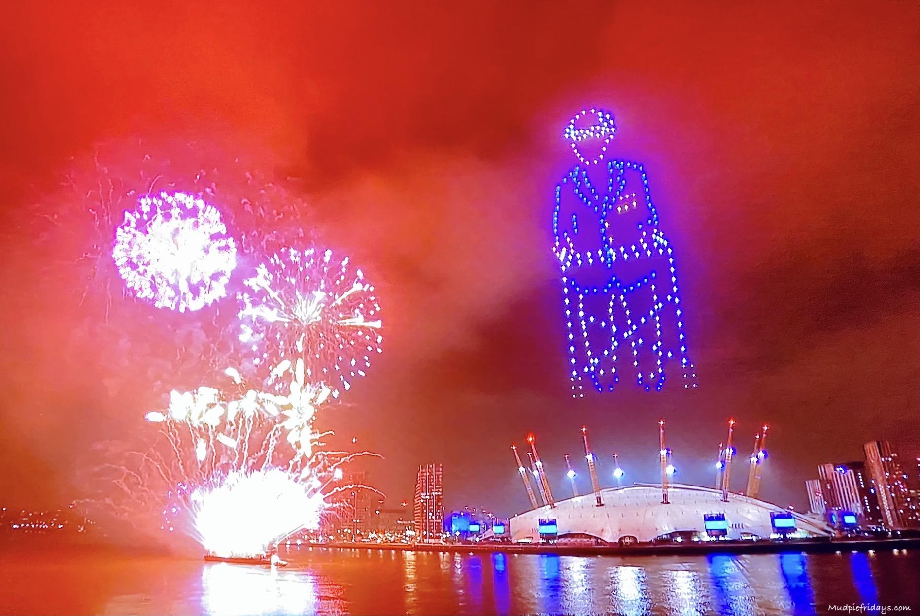 Fireworks over London NY 2020